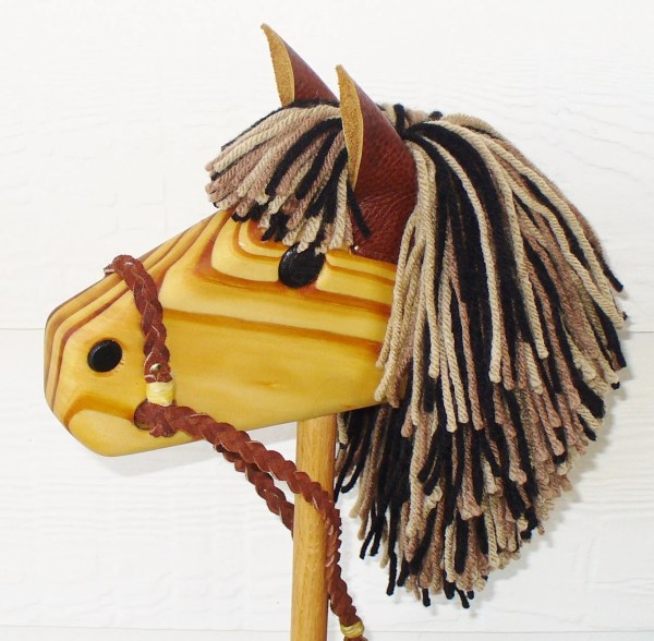 Stick Horse Hobby Horse Waldorf Toy Personalized Wooden