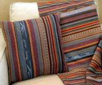 Pendleton pillow Chimayo native american inspired serape