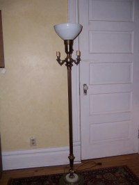 Reserved for Sharon Vintage Marble Floor Lamp home decor