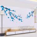 Wall sticker children decals nursery wall mural cherry blossom z163
