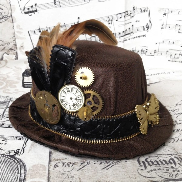 Hat Mignon Steampunk Art Nouveau Rosieshouseofsteam