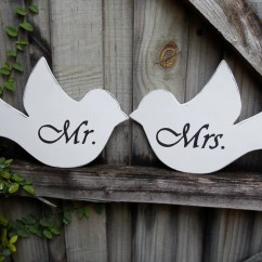 Mr And Mrs Chair Signs Best Ergonomic Chairs Australia Love Bird Wedding