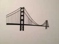 Items similar to Golden Gate Bridge Wall Decal on Etsy