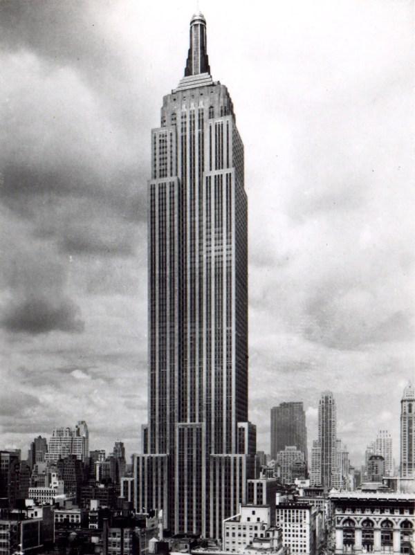 Empire State Building Digital York City Art