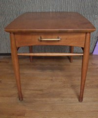 Mid Century Henredon night stand side table Heritage