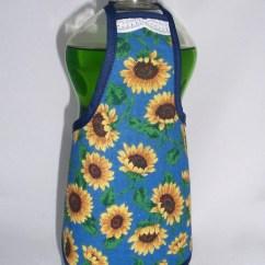 30 Kitchen Sink Small Pantry Ideas Sunflower Dish Soap Detergent Bottle Apron Cover Dress