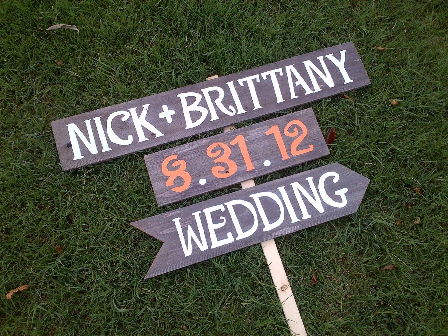 Names Date Wedding Sign Reception Signs Parking Signs