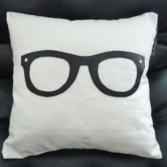 Dorm Chair Covers Etsy Medicine Ball Chairs Geek Pillow Cover Nerd Fun 16x16