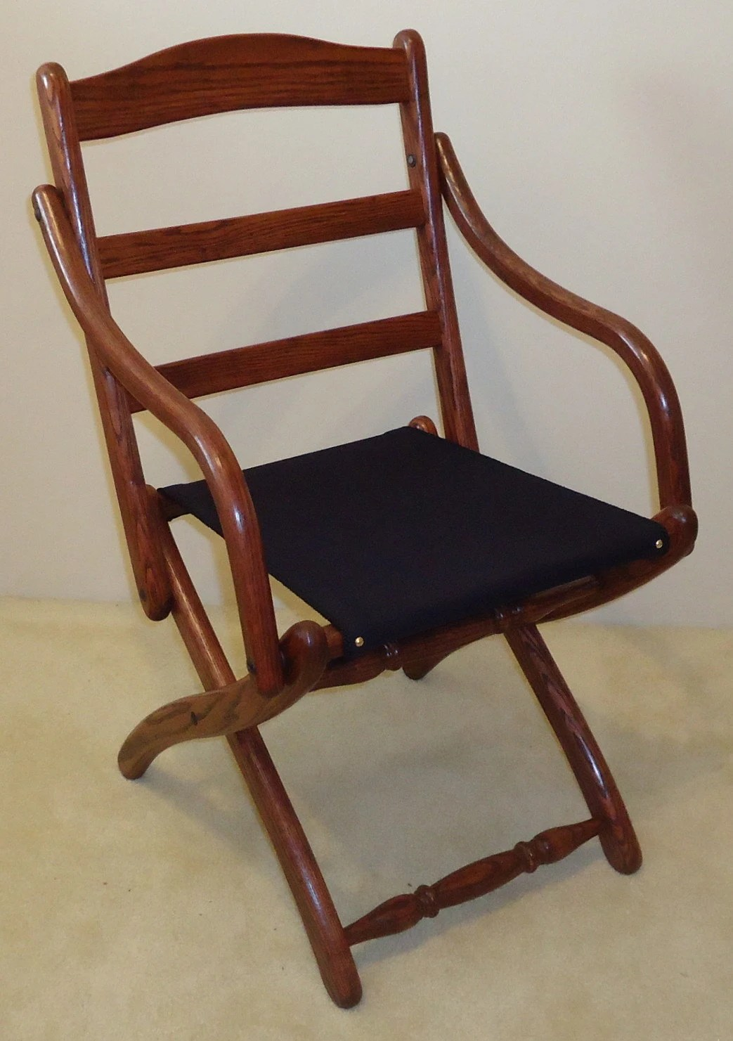 Folding Arm Chair Civil War Folding Arm Chair