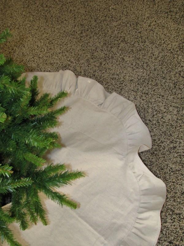 Rustic Christmas Tree Skirt Shabbyfrills