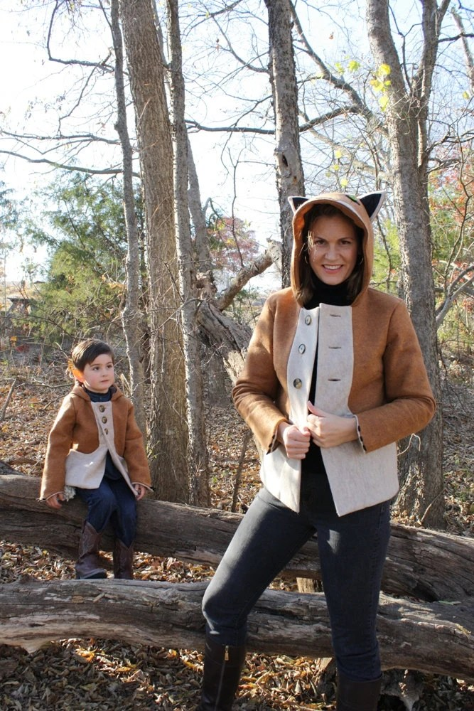 Fox Family: Save on Ladies Fox coat and Childs Fox Coat