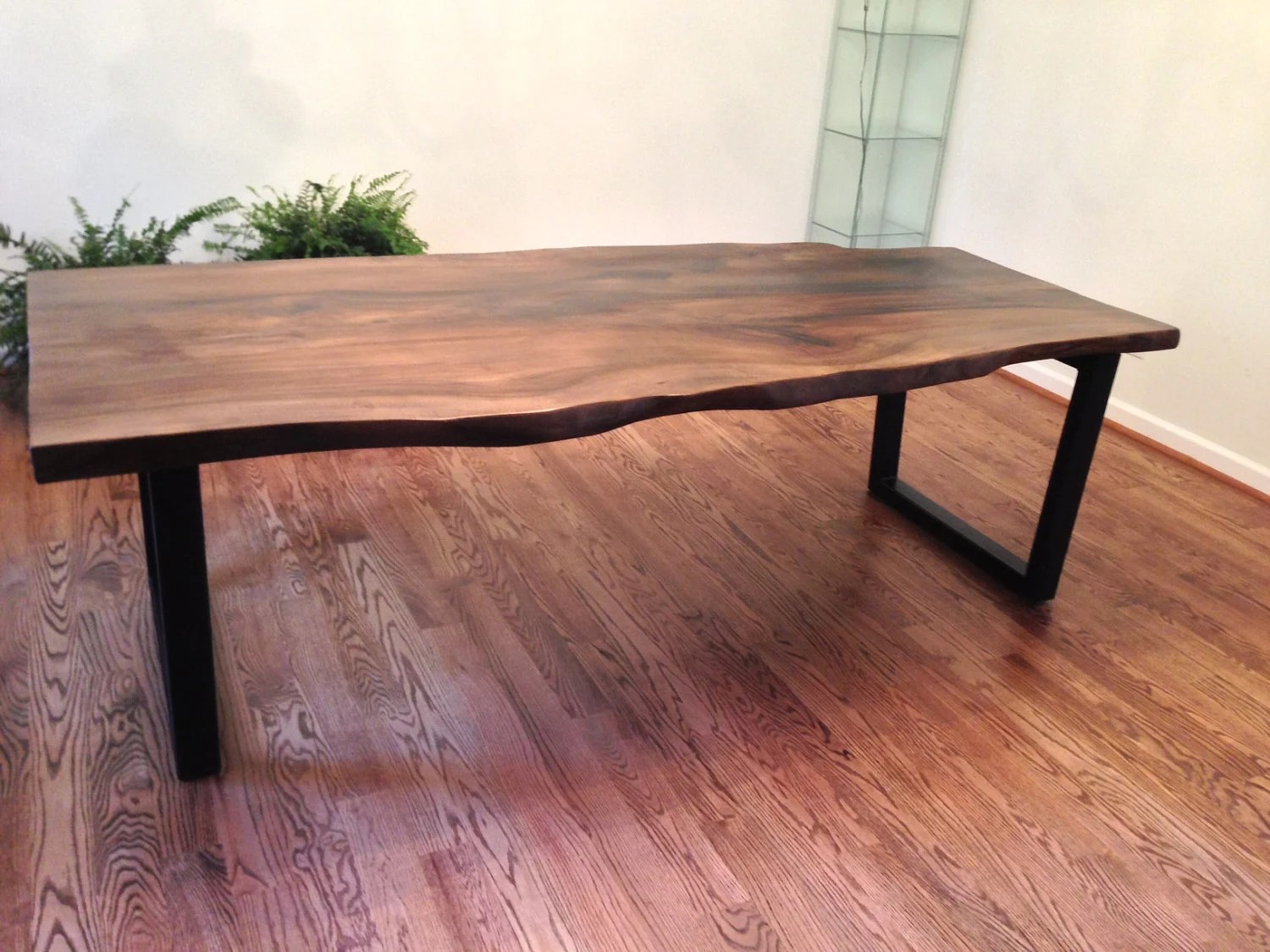Items Similar To Live Edge Tulip Poplar Dining Table On Etsy