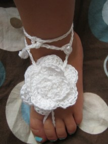 Barefoot Sandals Crochet Pattern Adult