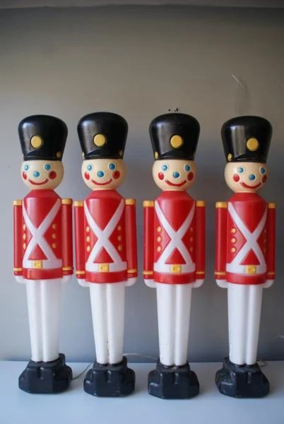 31 inches tall December Sale Empire Toy Soldiers Vintage