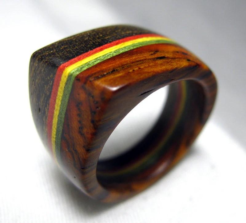 The Most Beautiful Wedding Rings Rasta Wedding Rings