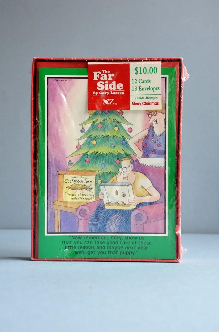 The Far Side Holiday Cards By Gary Larson NIB