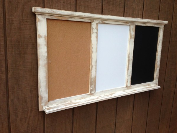 Chalkboard and Dry Erase Board Combo