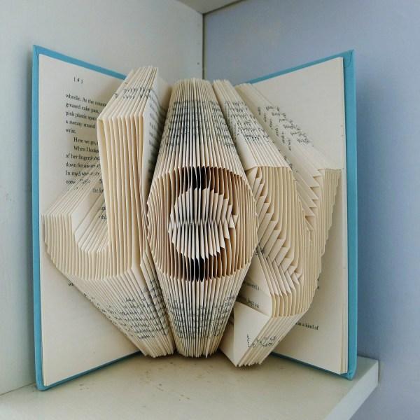 Folded Book Art Sculpture Patterns