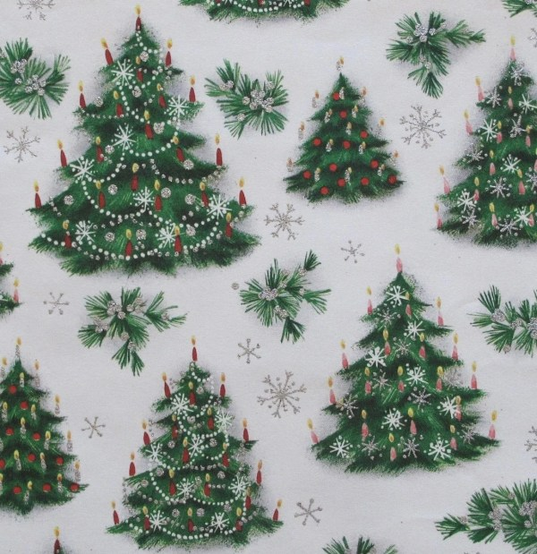 Vintage Norcross Christmas Wrap Wrapping Paper