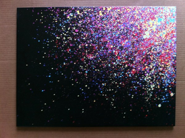 Splatter Paint Canvas