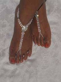 Foot Jewelry and Barefoot Sandals
