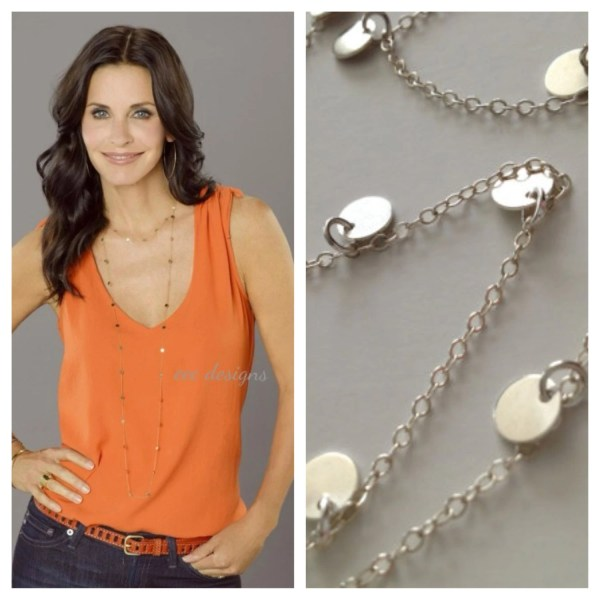 Courtney Cougar Town Necklace Similar Mimi