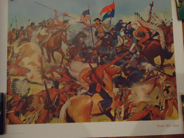 American Art Prints Oil . Charles Mc.barron Set