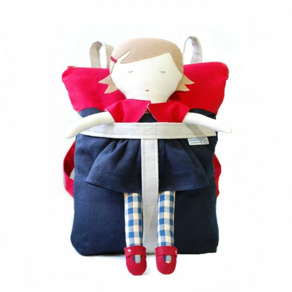 Saltwater Kid Doll And Matching Backpack Carrier Free