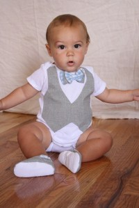 Baby boy shirt bow tie shirt Baby boy photo prop Blue and