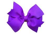 purple hair bow 4