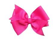 4 hot pink hair bow