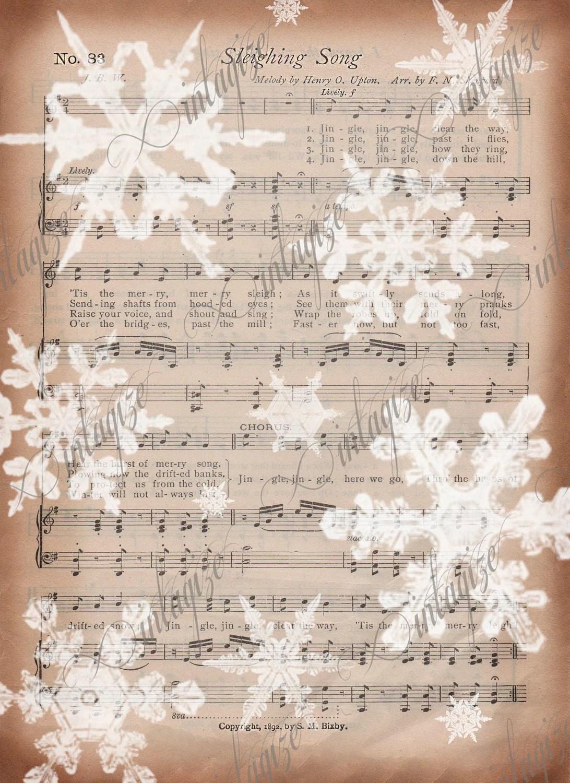 image regarding Printable Sheet Music for Crafts named Outdated Sheet New music For Crafts - 12 months of Fresh H2o