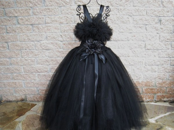 Black Beauty Tutu. Tutu Dress. Flower Girl Elsasieron