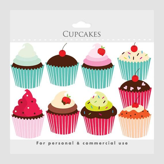 items similar cupcakes clipart