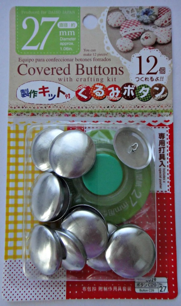 Cover Button Kit - Year of Clean Water