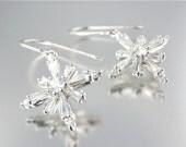 Snowflake Sparkle Earrings - Camla