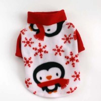 Items similar to Etsy Dog Sweaters Winter Penguin Fleece ...