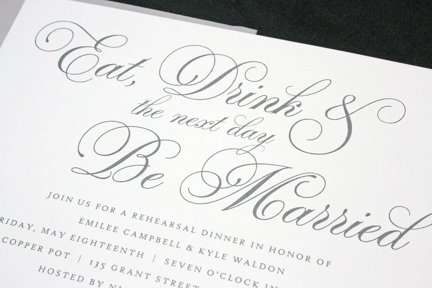 Invitations for Weddings, Bridal Showers, Engagement