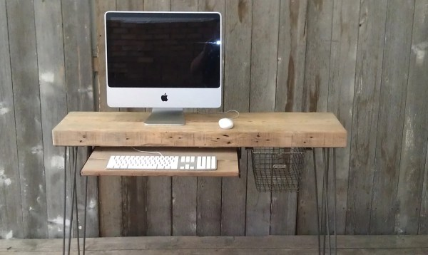 Small Modern Industrial Desk
