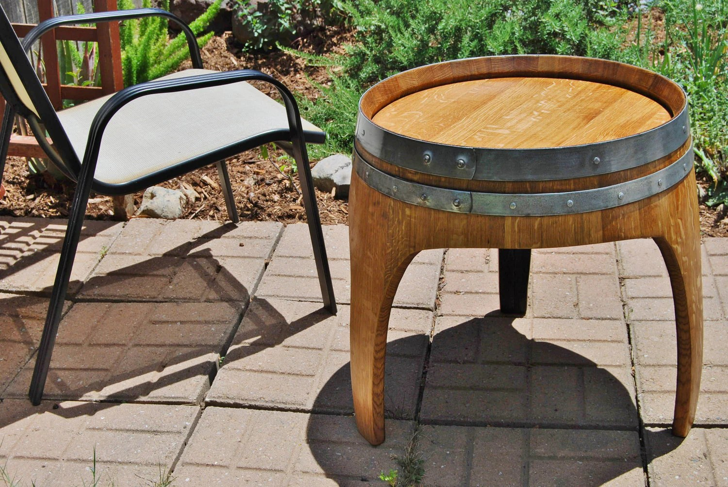 Barrel Table Etsy