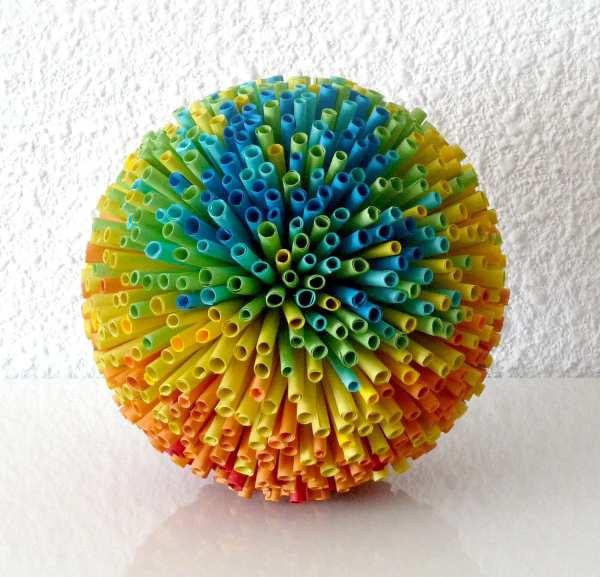 Paper Art Sculpture Rainbow Abadova