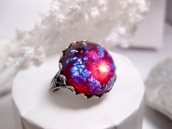 Dragons breath Fire opal dragon egg