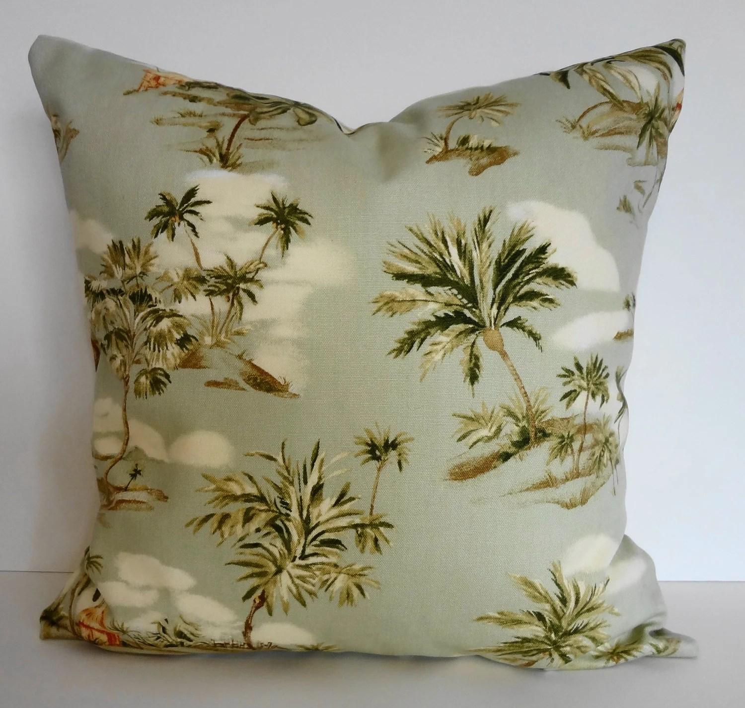tropical sofa throw cover beds on gumtree adelaide pillow hawaiian print ametex designs