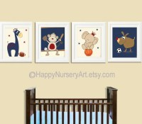 Baby Boy Nursery boy nursery art Decor Sports Nursery Wall Art