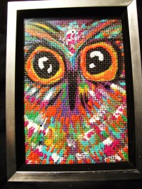 Owl Painting & Gift Modern Home Decor and Art Dorm