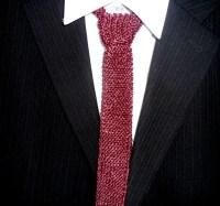 Knit Tie Mens Knit Tie Knit Ties Knitted Tie Men by ...
