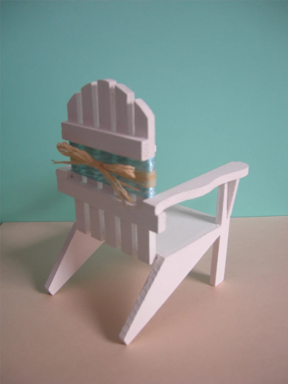 adirondack chair photo frame favors highwood reviews beach wedding decoration or cake toppers