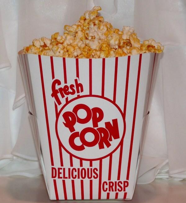 8 Large Popcorn Buckets Centerpiece Party