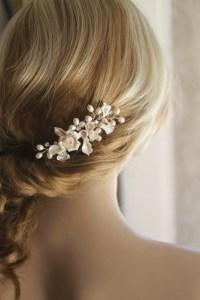 Bridal hair comb. Wedding Decorative Combs. Bridal Hair