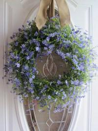 Summer Wreath Front Door Wreath Country Wreath Lilac
